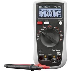 VOLTCRAFT VC190 Hand-Multimeter digital CAT III 600V Anzeige (Counts): 6000