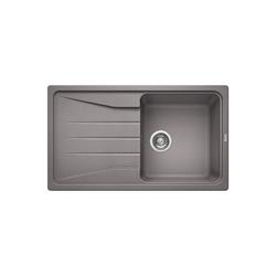 Blanco Sona 5 S Silgranit Puradur Ii Single Bowl Reversible Drainer Composite Grey Kitchen Sink