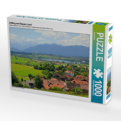 Aidling und Blaues Land Lege-Größe 64 x 48 cm Foto-Puzzle Bild von SusaZoom Puzzle