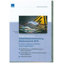 Sicherheitsunterweisung Elektrotechnik CD-ROM