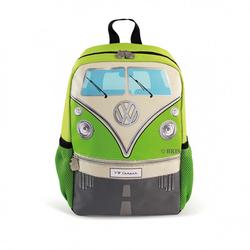VW Bulli T1 Rucksack Klein grün