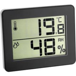 TFA Dostmann 30.5027.01 Thermo-/Hygrometer Schwarz