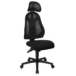 Topstar Free Art mit Kopfstütze Bürostuhl schwarz