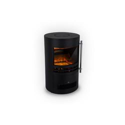 Klarstein Elektrokamin Brixen Elektrischer Kamin 900/1800W InstaFire Thermostat schwarz
