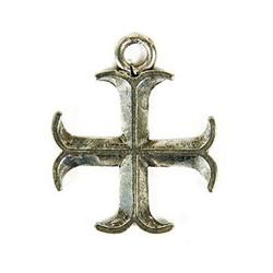 Adelia´s Amulett Tempelritter, Eingekerbtes Tatzenkreuz