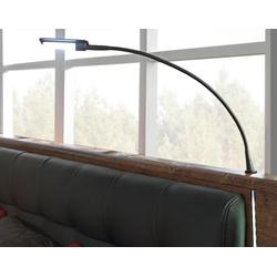 FORTE LED Leselampe, 2er Set schwarz Zubehör für Betten Leselampe