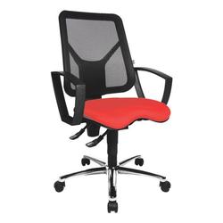 Bürostuhl »Budget« mit Armlehnen rot, OTTO Office Budget