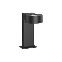 VBLED LED Pollerleuchte 8W LED-Pollerleuchte schwarz 30 cm