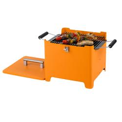Tepro Chill&Grill Holzkohlegrill Cube orange