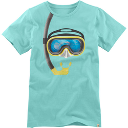 T-Shirt Hologramm, türkis, Gr. 164/170 - 164/170 - türkis