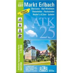 Markt Erlbach 1 : 25 000