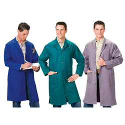 Berufsmantel, grau, Gr.58 / Arbeitskleidung