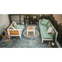 Holzbegehrt Loungeset Stammtisch