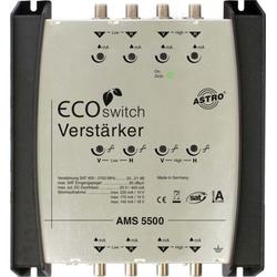 Astro Strobel Sat-ZF Verstärker 1terr/4Sat-EG ferng. AMS 5500 Ec