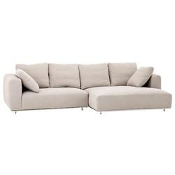 Casa Padrino Luxus Sofa Sandfarbig - Designer Ecksofa