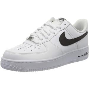 Nike Herren AIR Force 1 '07 AN20 Basketballschuh, White Black, 42 EU