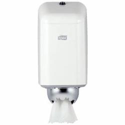 Tork Spender für Innenabrollung Mini, Tork Mini-Box, Metall, Farbe: weiß
