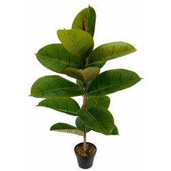 Künstliche Zimmerpflanze Gummibaum, I.GE.A., Höhe 84 cm