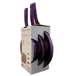 Mischler Cook Pfannen-Set COOK Pfannenset 3-teilig Geschmiedetes Aluminium, Aluminium (3-tlg., 1 Bratpfanne ø 20 cm; 1 Bratpfanne ø 24 cm; 1 Bratpfanne ø 28 cm)