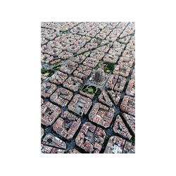 RAVENSBURGER Barcelona von Oben Puzzle Mehrfarbig