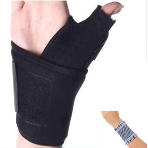 Amashr Medical Thumb Brace und Daumenstütze und Daumenschiene Stabilisatoren - Großer -Links Hand- 20-23 Cm (Handgelenkumfang) - inklusive Handgelenk-Band, AM-ORT-KDZJ-SB-007-L