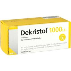 Dekristol 1000 I.E. Tabletten