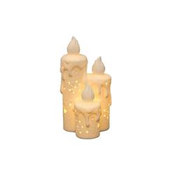 SIGRO Windlicht Porzellan Windlicht Kerzen