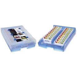 HAN Lernkartei CROCO 2-6-19, DIN A8 quer,incl. Stift u.100 Karten,