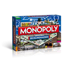 Winning Moves Spiel, Brettspiel Monopoly Recklinghausen