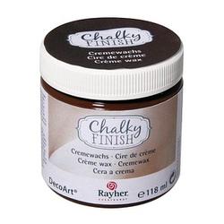 Rayher Chalky Finish dunkelbraun Cremewachs dunkelbraun 118,0 ml, 1 St.