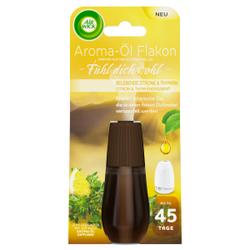AIR WICK Aroma-Öl Flakon Nachfüller, Das elegante Duftaroma-Öl sorgt für ein noch nie dagewesenes Dufterlebnis, Zitrone & Thymian