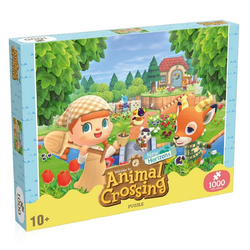 Winning Moves Puzzle Animal Crossing New Horizons Puzzle Characters (1000 Teile), Puzzleteile