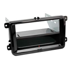 2-DIN RB Inbay® Seat / Skoda / VW Klavierlack schwarz
