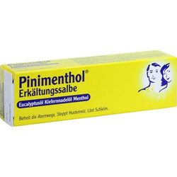 PINIMENTHOL Erkältungssalbe Eucal./Kiefern./Menth. 20 g