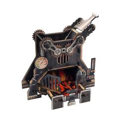 e-Raptor Spiel, e-Raptor Dice Tower Steampunk Furnance (Höhe 19