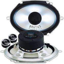 Hifonics Multiroom-Lautsprecher (Hifonics BX682i - 6x8 LED - Lautsprecher Boxen)