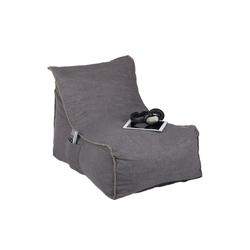 relaxdays Sitzsack Sitzsack mit Lehne