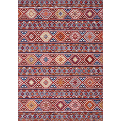 Teppich Anatolian, ELLE Decor, rechteckig, Höhe 5 mm, Orient-Optik, Wohnzimmer rot 120 cm x 160 cm x 5 mm