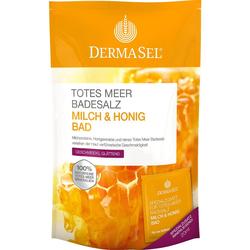 DermaSel Totes Meer Badesalz Milch & Honig Bad