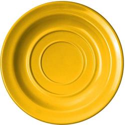 WACA Untertasse, (4 Stück), Melamin, 14 cm gelb