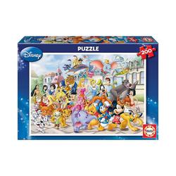 Educa Puzzle Puzzle Disney Parade, 200 Teile, Puzzleteile