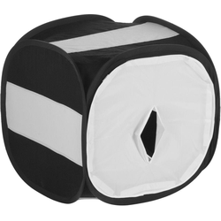 walimex Kamerazubehör-Set Pop-Up Lichtwürfel 16632 80x80x80cm Black