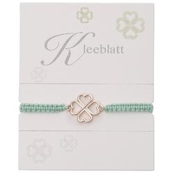 Armband mit Element - Kleeblatt