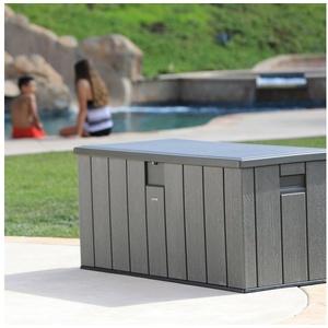 Lifetime Kissenbox Premium Wood, 570 Liter