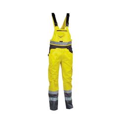 Warnschutz Latzhose 240 g/m² »SPARK« Größe 50 gelb, Cofra