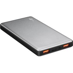 Quickcharge Powerbank mit 10000mAh, Schnellladefunktion und QC3.0 und USB-C™