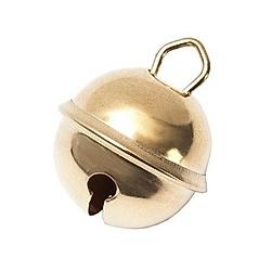 Glöckchen, Gold, 12 mm