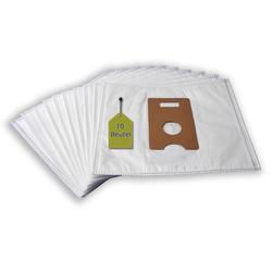 eVendix Staubsaugerbeutel Staubsaugerbeutel passend für Husqvarna CVC 210… 230, 10 Staubbeutel, kompatibel mit SWIRL P38, passend für Husqvarna