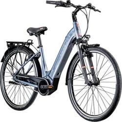 Zündapp Z909 700c E-Bike E Citybike 28 Zoll Pedelec Bosch Stadtrad Hollandrad... 46 cm, grau