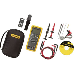 Fluke FLK-3000FC/EDA2 COMBO KIT Hand-Multimeter digital Grafik-Display, Datenlogger CAT III 1000 V,